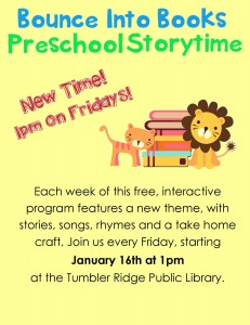 Storytime poster January 2015