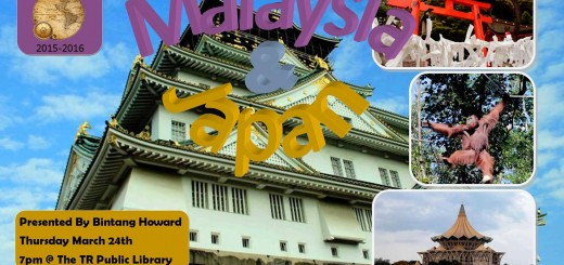 Bintang Howard Itchy Feet Japan Malaysia