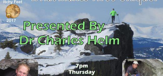 Dr. Charles Helm - Itchy Feet - Thur Feb 23rd